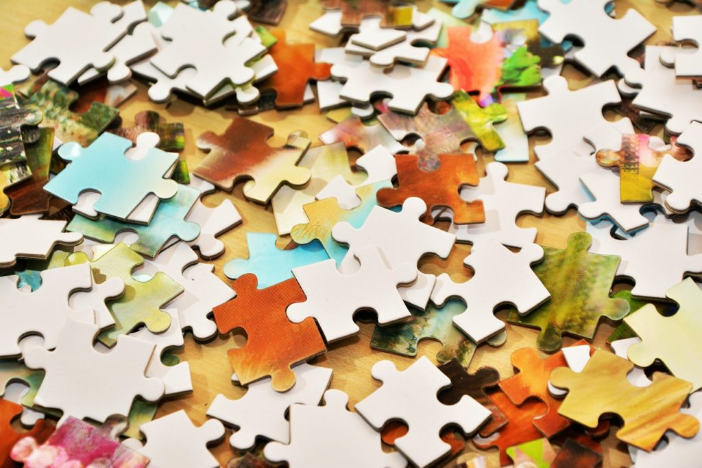 pieces of the puzzle, puzzle, patience